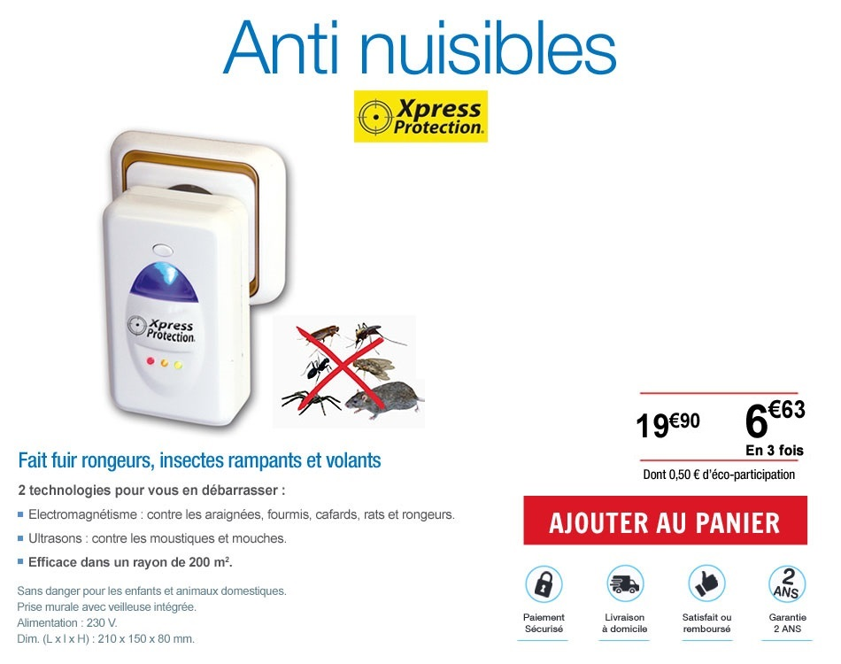 Anti-nuisible protection